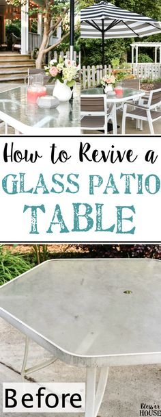 How to Revive a Glas