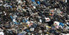 The world biggest garbage dump yard