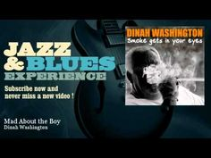 Dinah Washington - Mad About the Boy - JazzAndBluesExperience - YouTube