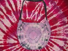 Purple Tye Dye Denim Bag $40.00  http://www.etsy.com/shop/EleCtricAmethyst?ref=seller_info
