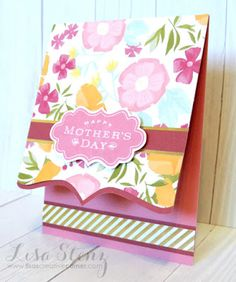 Lisa's Creative Corner: Happy Times Mother's Day Gift and Card