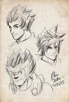 Spiky haired dudes from Nexo Knights, Ninjago, and Legends of Chima.  Please do not reupload.