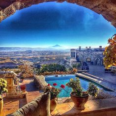 2 Days Cappadocia Tour from Istanbul with Flights. Top Hotels, Hotels And Resorts, Great Places, Places To See, Wonderful Places, Amazing Places, Boutiques, Turkey Destinations, Museum Hotel