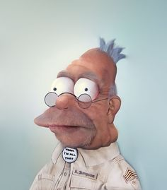 Grampa From The Simpsons