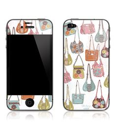 Take a look at this Hip Handbags iPhone Art Skin for iPhone 4/4S by Peter Horjus Design on #zulily today!