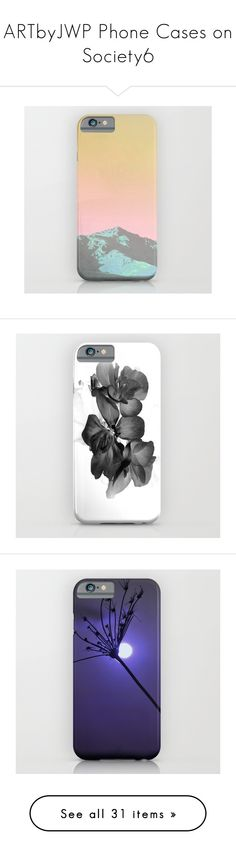 """""""ARTbyJWP Phone Cases on Society6"""" by by-jwp ❤ liked on Polyvore featuring accessories, tech accessories, case, phone case, phonecase, grey, beige, floral, flowers and neutral"""