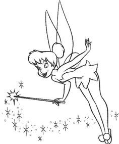 Pinterest the world s catalog of ideas for Black and white tinkerbell