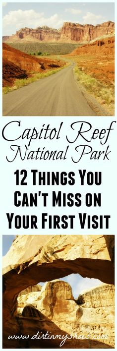 12 hikes and activities you can't miss at Capitol Reef — written by a former park ranger! Source by dirtinmyshoes Bryce Canyon, Grand Canyon, Capitol Reef National Park, National Parks Usa, Oh The Places You'll Go, Cool Places To Visit, Monument Valley, Visit Utah, Utah Hikes