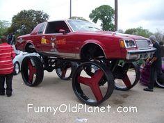 big pimpin wagon wheels are back in y'all