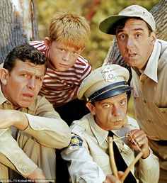 He made numerous guest appearences on the Andy Griffith (pictured far ledt) Show with  Ron Howard (child), Jim Nabors (upper right) and Don Knotts