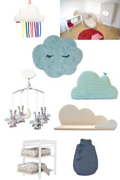 Our cloud pillow on Femme Attitude - a perfect nursery gift!