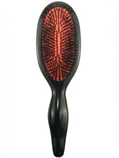 This Sonia Kashuk Kashuk Tools Hair Brush with a mix of nylon and boar bristles detangles hair while adding fullness and shine....