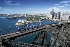 Sydney Harbour Bridge Climb - would you do it: http://www.ytravelblog.com/sydney-harbour-bridge-climb/