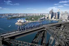 Sydney Harbour Bridge Climb - would you do it: http://www.ytravelblog.com/sydney-harbour-bridge-climb/
