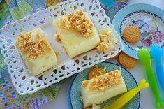 Kitchen Stori.es: Ζελέ Γιαουρτιού με Γεύση Λεμόνι Sweet Recipes, Yogurt, Jelly, Lemon, Dairy, Eggs, Cheese, Breakfast, Greek