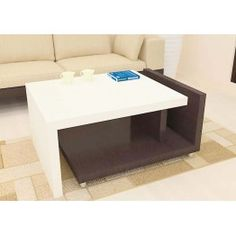 Simple Yet Attractive Center Table With Glass Top Made Up Of
