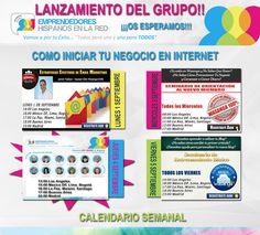 Buen Día Amig@s!!! Este Jueves 4 de Septiembre. Lanzamiento del Grupo Emprendedores Hispanos en la Red. Quieres Formar Parte??? >>>INSCRIBETE PLAZAS LIMITADAS>>>http://bit.ly/1lvzaxB