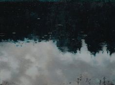 "Piotr Kozlov - ""the first raindrops"", 2013, oil, canvas"