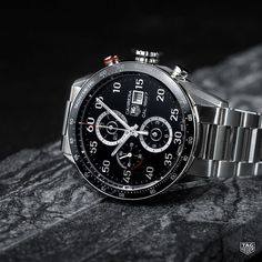 In a battle ofthe most durable watches with rugged good looks and timeless heritage the TAG Heuer Carrera Calibre 1887 takes the cake easily. Discover more in our bio. #DontCrackUnderPressure#style #menwithstyle #reloj #watch #steel