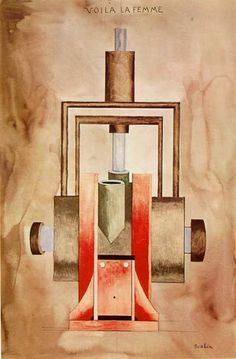 He ahí la mujer - Francis Picabia - The Athenaeum Adventures In Babysitting, Francis Picabia, Art Assignments, Marcel Duchamp, Abstract Drawings, Abstract Art, Bottle Design, Famous Artists, Artist Art