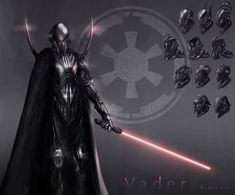 Darth Vader redesign by JoseArias on DeviantArt