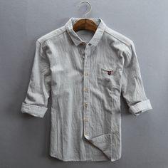 d827e096ddec  gt  gt  Click to Buy  lt  lt  2017 Male 5XL Linen Shirt