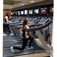 Philippine TV personality.Ellen Adarna uses Technogym for her advanced treadmill exercises.