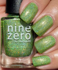 KellieGonzo: Nine Zero Lacquer The Men of Letters Collection + Polish of the Month Swatches & Review