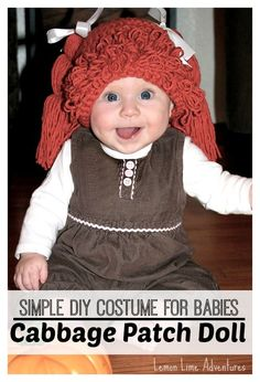 Cabbage Patch Doll Costume for Babies | OMG!!! I LOVE THIS! #halloween #totally80s