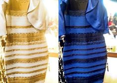 Dream of blue dress debate - Fashion dresses news Blue And Gold Dress, Blue And White, Yellow Dress, Blue Gold, Dress Black, White Dress, White Gold, Marine Uniform, Look Thinner