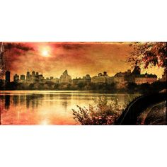 Found it at Wayfair.ca - Sunset in the Park by James Photographic Print on Wrapped Canvas