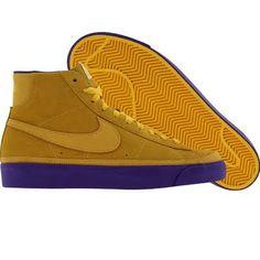 Nike Blazer High Premium NBA QS Los Angeles Lakers varsity maize varsi