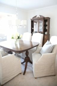 The Process of Decorating   A Dining Room Re-Do for Less than $50 - Style Me Pretty Living