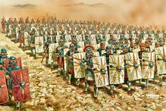Roman Legion Marching into Gaul Greek History, Roman History, European History, Ancient History, American History, Ancient Rome, Ancient Greece, Ancient Aliens, Military Art