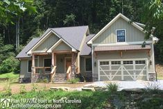 3 Bedroom Craftsman Home Plan - 11777HZ thumb - 02