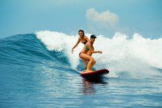 Two is better than one! Alana Blanchard and Bethany Hamilton