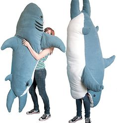 shark-shaped sleeping bag