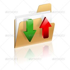 Download and Upload Folder Icon  #GraphicRiver         Download and Upload Folder icon with Arrow, isolated on white, vector     Created: 18October12 GraphicsFilesIncluded: JPGImage #VectorEPS Layered: Yes MinimumAdobeCSVersion: CS Tags: arrow #business #buy #cardboard #carton #commerce #communication #concept #container #correspondence #delivery #document #download #e-commerce #file #folder #icon #isolated #page #paper #sharing #storage #upload #uploading