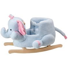 ALEX Toys Elephant Rocker ($90) ❤ liked on Polyvore featuring baby, toys, baby stuff, kids and animals