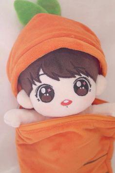 Kawaii Plush, Kawaii Doll, Kawaii Anime, Pop Dolls, Cute Dolls, Baby Dolls, Bts Jungkook, Pusheen, Bts Doll