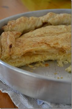 Fast Pita made with Kasseri cheese. Greek Recipes, My Recipes, Cooking Recipes, Filo Recipe, Food Network Recipes, Food Processor Recipes, My Favorite Food, Favorite Recipes, Greek Pita