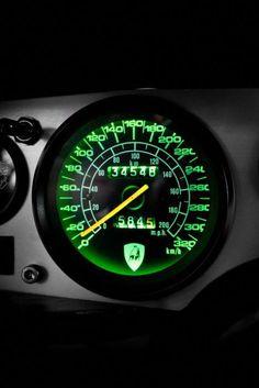 a520cc60eb3 Lamborghini Countach Speedometer -ℛℰ℘i ℕnℰD by Averson Automotive Group LLC  Lamborghini