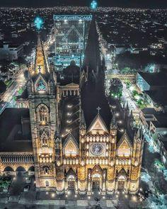 Big Ben, Cathedral, Building, Travel, Colonial, Model, Guadalajara, Cities, Paintings