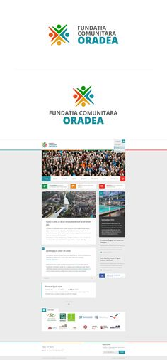 "Logo + Web Design for ""Fundatia Comunitara Oradea"" which is a Local Community Foundation (NGO)"