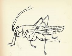 "13: ""Grasshopper"" by Ben Shahn by Scott Lindberg, via Flickr"