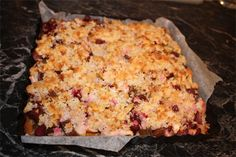 Coconut Crumble Topping Recipe photo