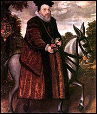 England Under The Tudors: William Cecil, Lord Burleigh (1521-1598) [Lord Burghley, advisor to Queen Elizabeth I]