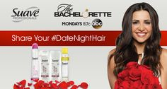 Tweet or Instagram your #DateNightHair for a chance to  attend ABC's The Bachelorette: The Men Tell All special by 6/20/14, or a Suave Professionals®  product! Read more: http://bit.ly/1kQ93fs  No pur nec. Open to 50 US & DC, 18+. Ends 7/29/14. Rules: http://bit.ly/1oUp6vt