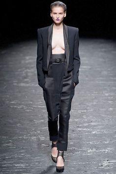The Spring 2013 Runway Report - Black Tie Affair - Haider Ackermann