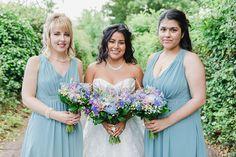 Bridesmaid Bouquet, Bridesmaids, Bridesmaid Dresses, Wedding Dresses, Turquoise Wedding Flowers, Welsh Weddings, Wedding Breakfast, Got Married, Summer Wedding